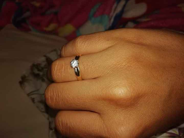 ¡Muestrenme su anillo de compromiso! - 1