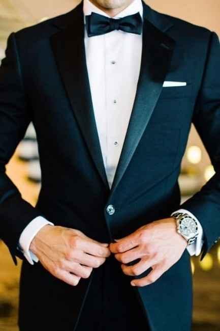 traje de novio