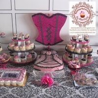 Mesas de dulces despedida de solteras