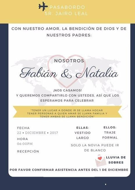 Tarjetas Virtuales De Invitacion