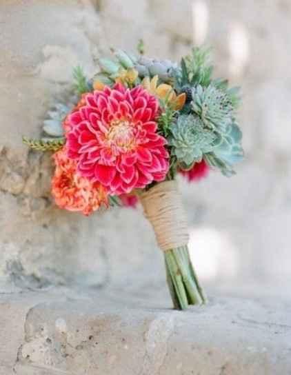mini ramo de novia