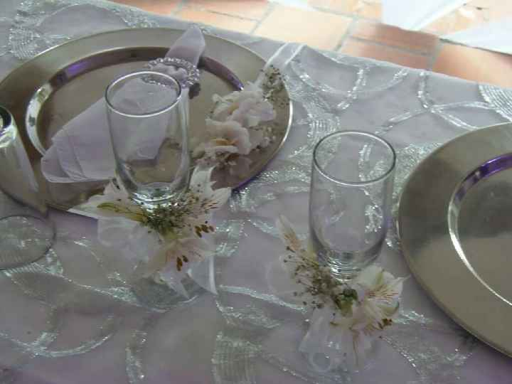 Ideas de copas de boda decoradas - 1