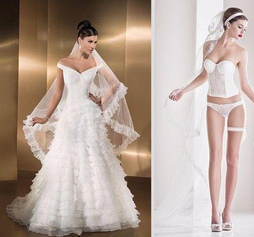 La ropa interior adecuada para cada vestido de novia...
