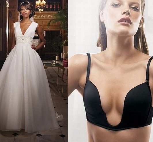 la ropa interior adecuada para cada vestido de novia