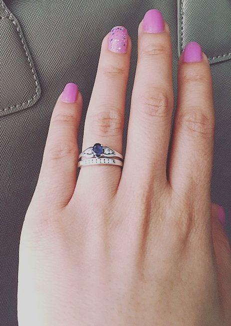 Hermosas saben como se debe usar la argolla de matrimonio y el anillo de compromiso - Anillo de casado mano ...