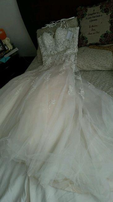 alguien ha comprado un vestido de novia por internet?