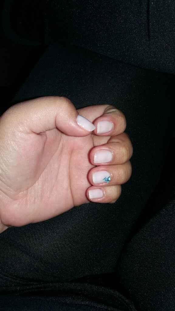 Listas mis uñas - 1