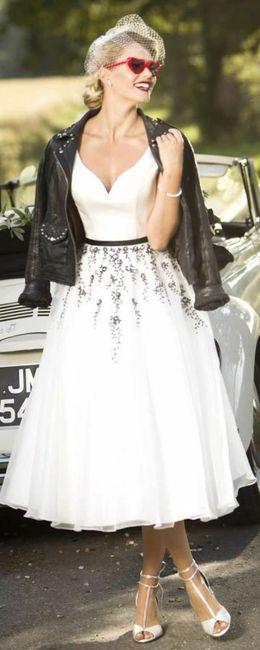 chaqueta de cuero para la novia!!!