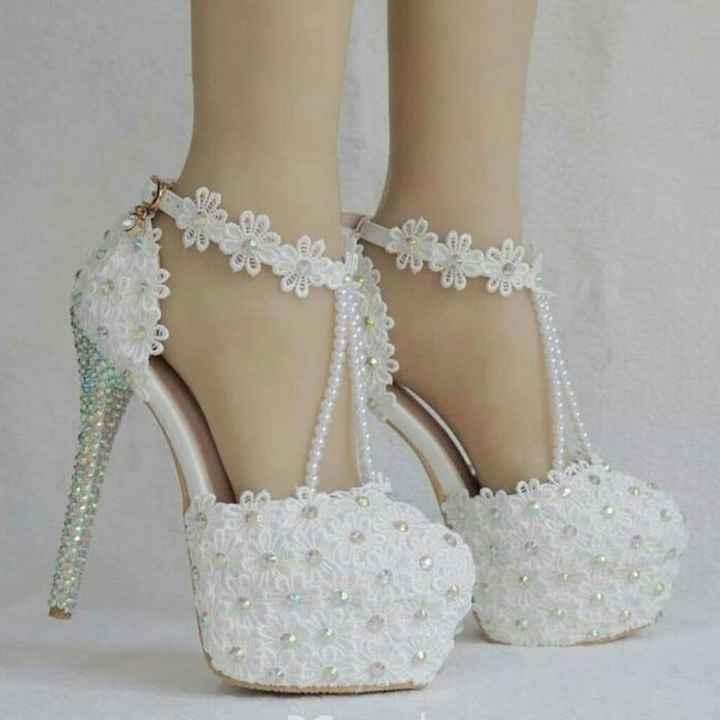 Los zapatos de 5 novias reales: ¡Ponte UN par! - 2