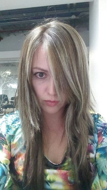 Peinados cabello recogido y suelto