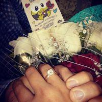 ¿Tu pedida de mano fue con o sin anillo? - 1