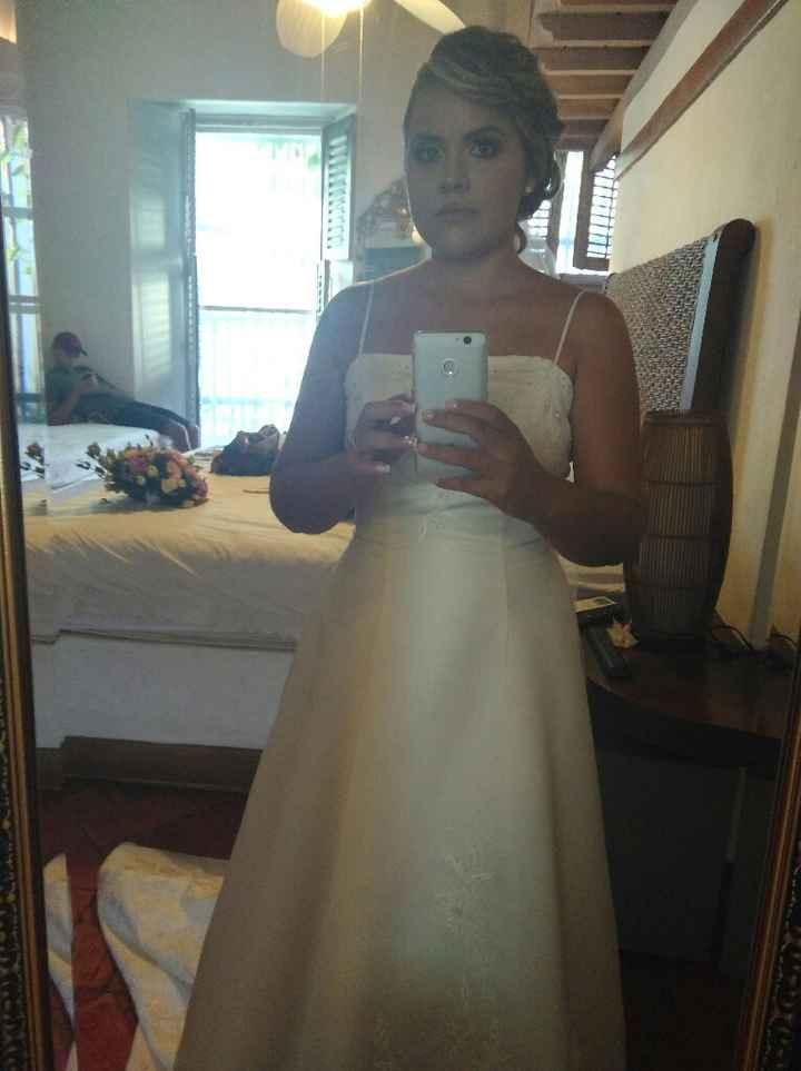 Alguna Aminovia que este interesada en coñññprar un vestido de novia!!!!!! - 1