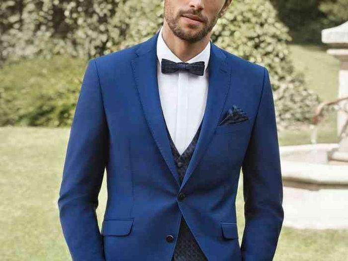 Traje de novio, corbatin, corbata inglesa o corbata tradicional. ¿Cuál te llama la atención? 3
