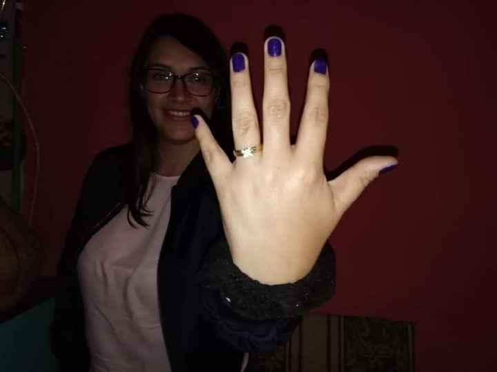 ¿Tienes alguna foto 'casual' con tu anillo de compromiso? - 1
