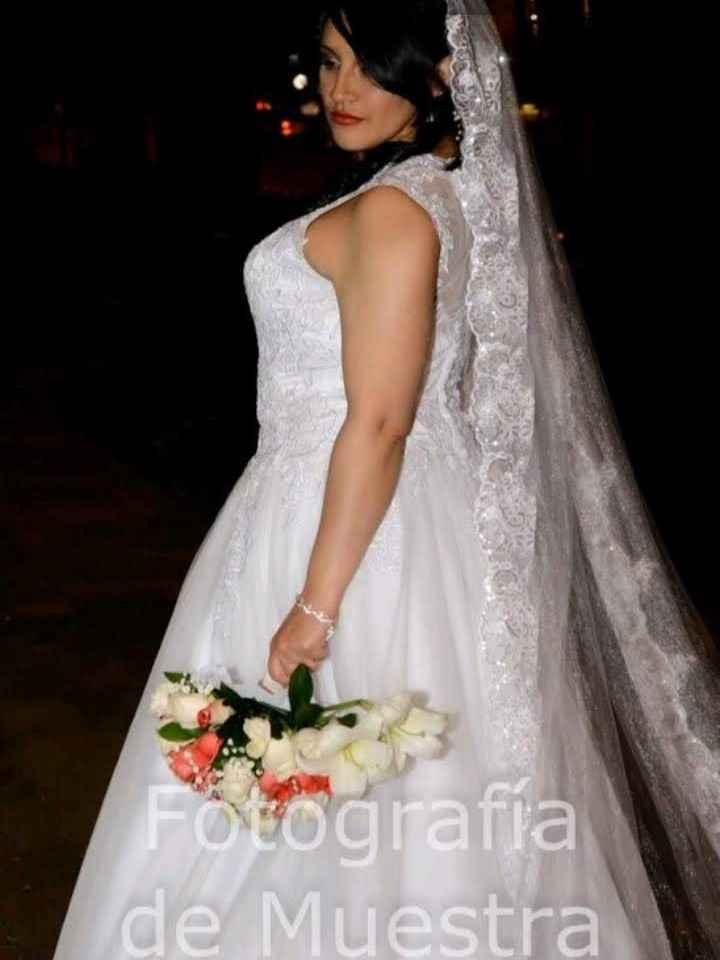 Mi VESTIDO de novia en fotos 📸 - 1
