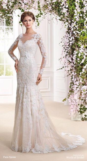 vestidos de novia estilo clásico, elegante y tradicional