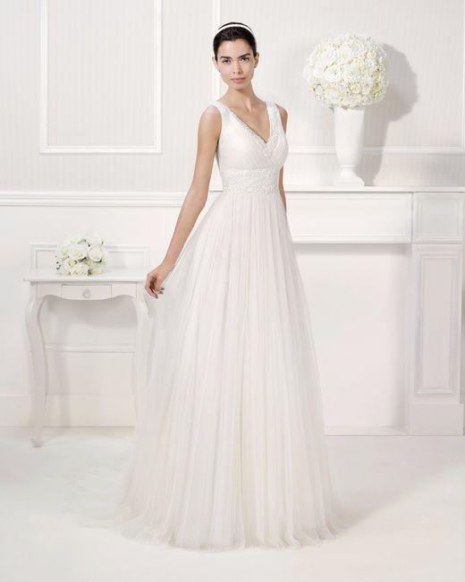 que vestido de novia favorece a las bajitas