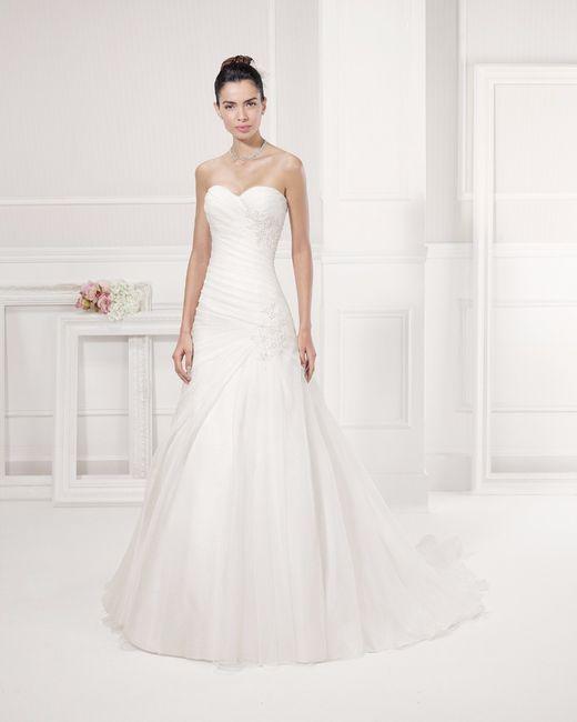 Vestido de novia colección 2016