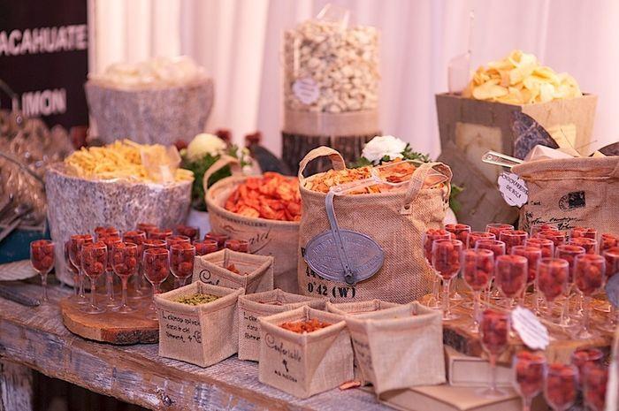 Mesa de dulces alternativa