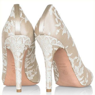zapatos de novia color champagne