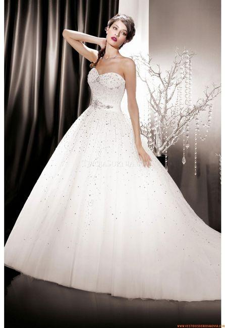 vestidos de novia corte princesa 2014 – vestidos de boda