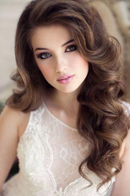 ¿Look de novia 100% romántico? - El maquillaje