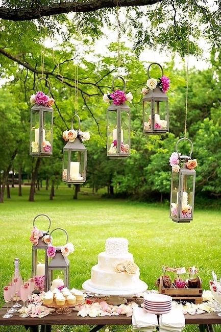 5 decoraciones sencillas para tu boda for Decoraciones para bodas sencillas