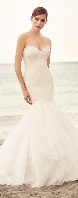d35d494b14 7 vestidos de novia para un matrimonio en la playa