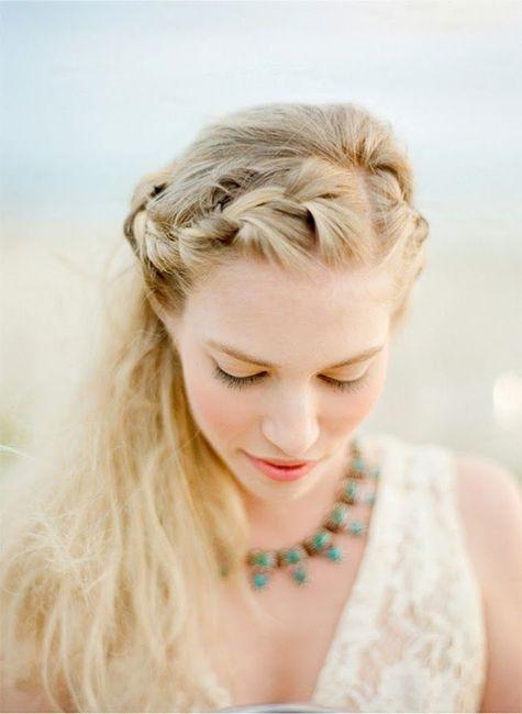 20 semirecogidos para tu peinado de novia