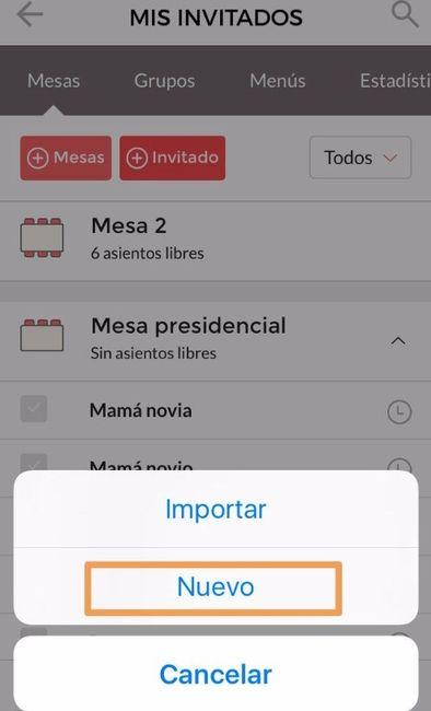 ¿Quieres agregar tu lista de invitados a la app? 3