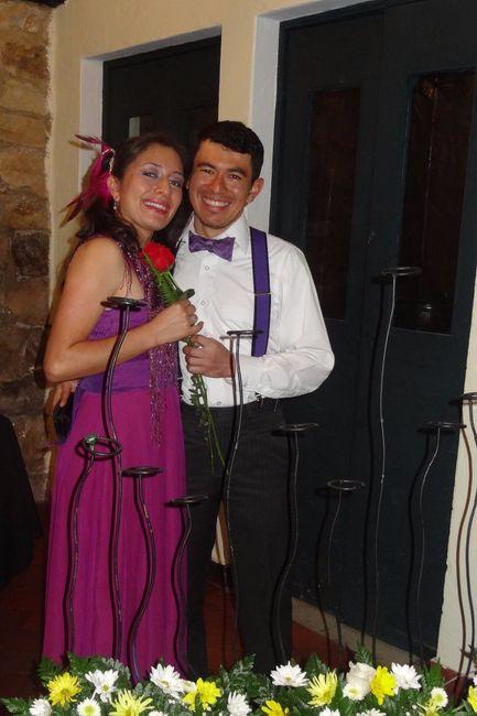 ¡Ganadora de la 9na Edición del Sorteo de matrimonio.com.co!