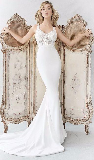 Imagenes de vestidos de novia al cuerpo