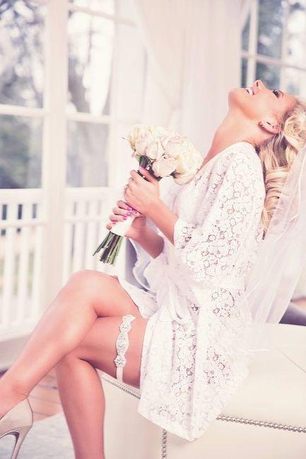 ¡Escoge tu bata de novia para el gran día!
