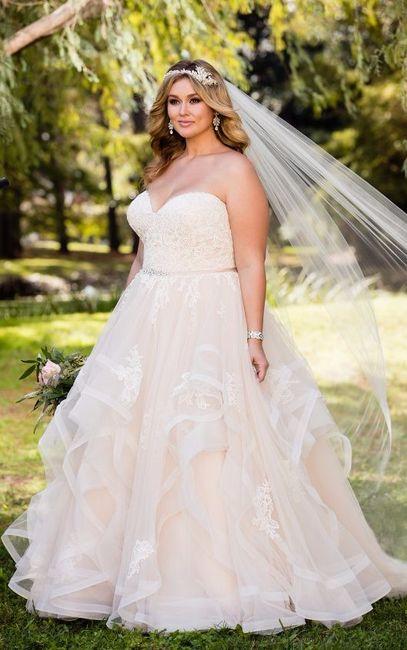 Tallas para vestidos de novia