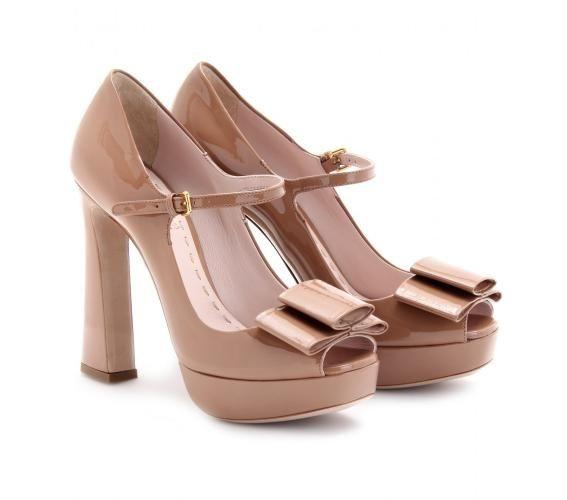 zapatos palo de rosa