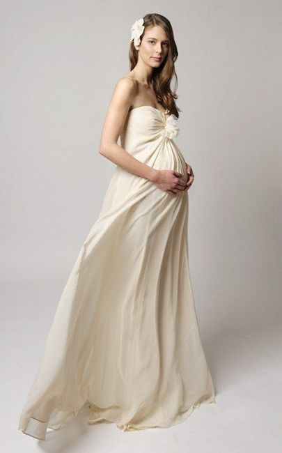 992f43c35 Matrimonio para novias embarazadas