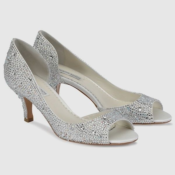 silver low heel wedding shoes zapatos para novias con tac 243 n bajo 7440