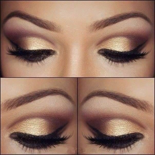 Maquillaje dorado para tus ojos: ¿si o no?