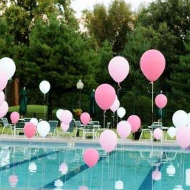 Ideas para ponerle encanto a una piscina for Party in piscina