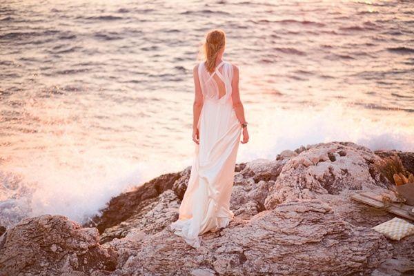 Vestidos de novia para matrimonio en la playa 6