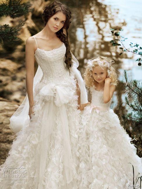 Vestidos de novia para mama e hija