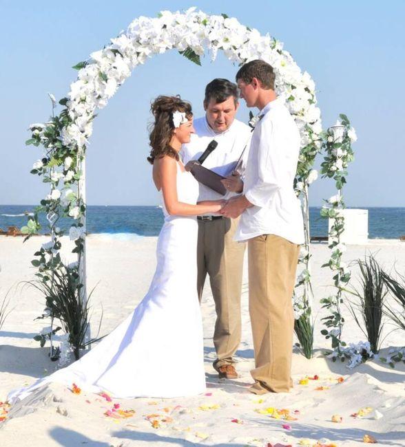 Matrimonio Catolico En La Playa : Altares para un matrimonio en la playa