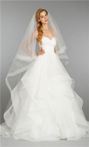 Vestidos de novia estilos princesa