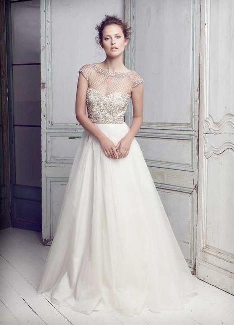 tipos de vestido de acuerdo al cuerpo de la novia