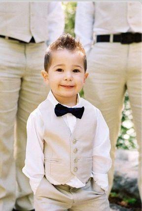 8498c33ab Cómo vestir a los niños para un matrimonio