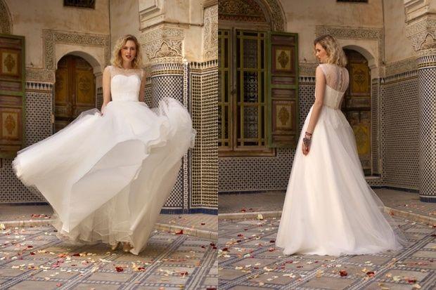 Vestido de novia para la noche
