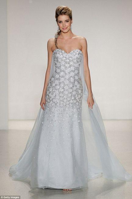 O Vestido De Noiva De Frozen