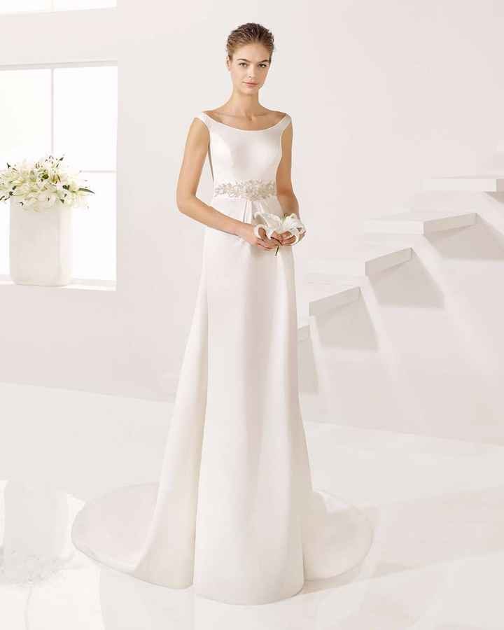 vestido de novia para bajitas!!!