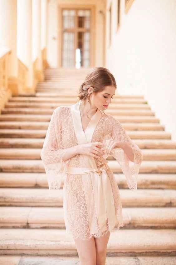 5 batas de novia para la luna de miel