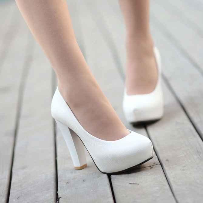 ¿Qué zapatos de novia te gustan más? 1